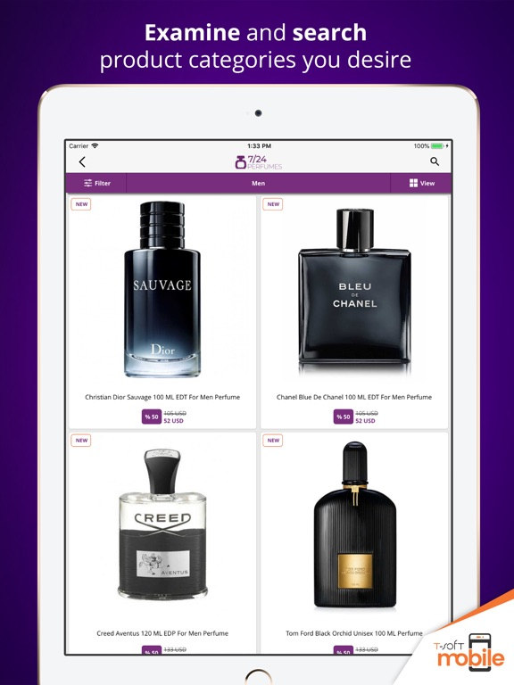 7/24 Perfumes Shopping App | Apps | 148Apps