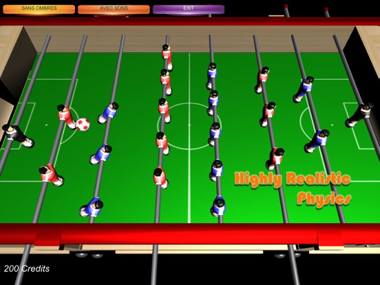 Table Soccer Foosball 3D screenshot 5