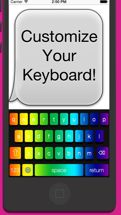 Custom Color Keyboards screenshot-0