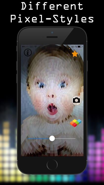 Brick Cam: Pixelate Live Camera Filter
