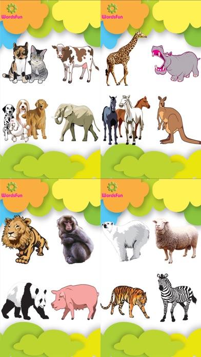 WordsFun -Animals Words Match screenshot three