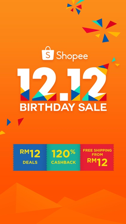 Shopee MY: 12.12 Birthday Sale screenshot-0
