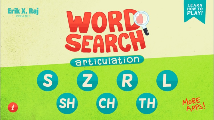 Word Search Articulation screenshot-0