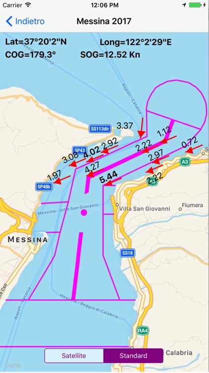 Messina Strait Current 2018