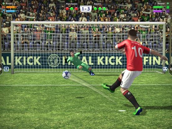 Final Kick футбол онлайн 2020 для iPad