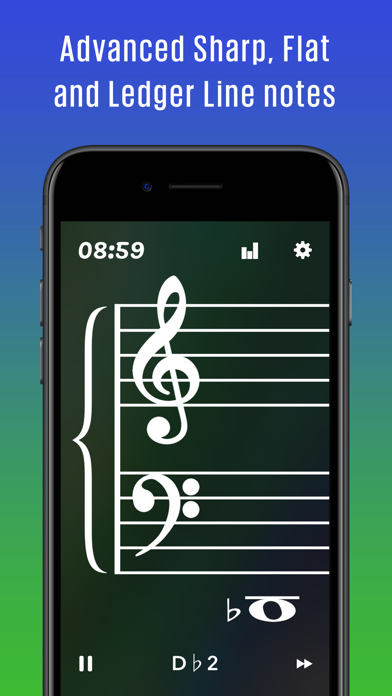 Note Flash Music Sight Reading screenshot four
