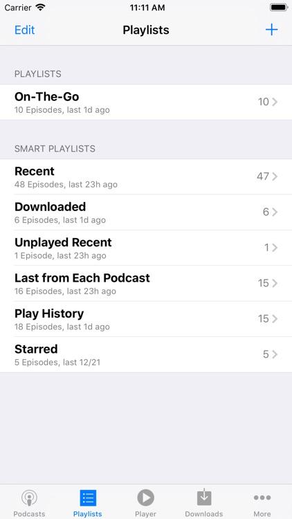 PodCruncher Podcast Player screenshot-5