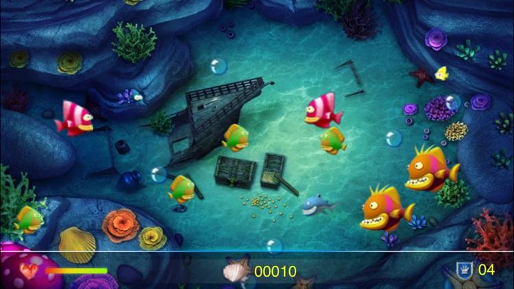 Crazy Big Fish Eat Small Fish screenshot-3