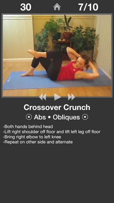 Daily Ab Workout review screenshots