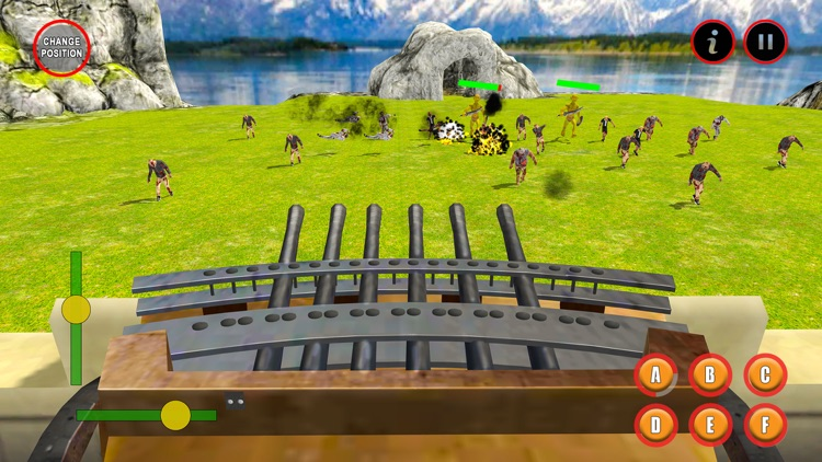 Castle Wall Defense Hero screenshot-3
