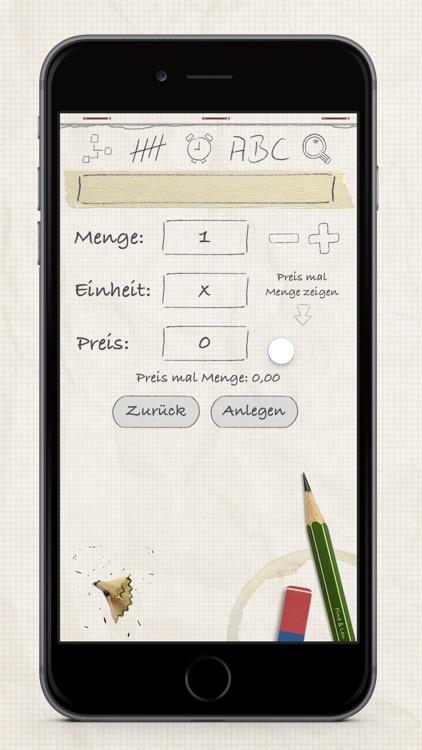 Shopping List / Grocery List screenshot-3