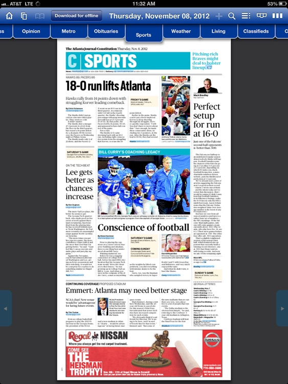 The AJC ePaper screenshot-3