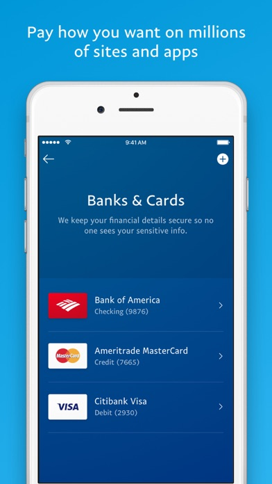 Screenshot 3 for PayPal's iPhone app'