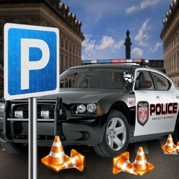 3D City Police Parking Frenzy