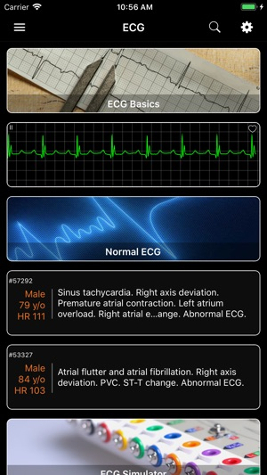 ECG - Cases for CME & EMT on the App Store