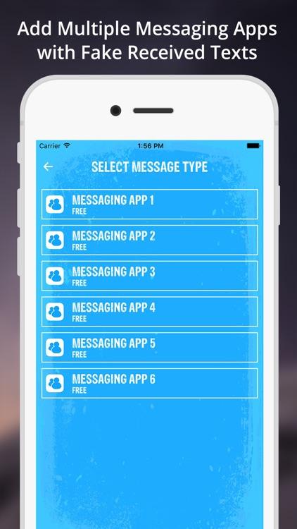 Fake Text Message App screenshot-3