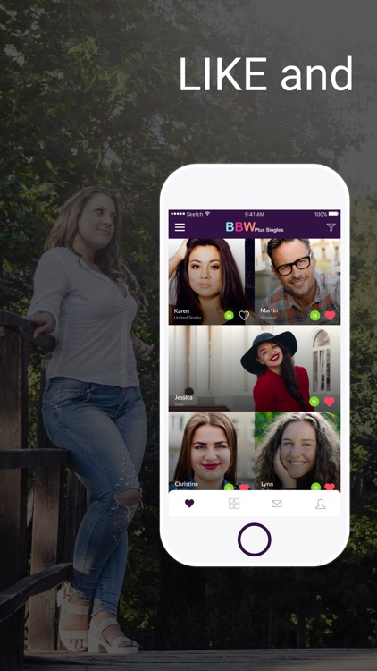 BBW Plus Singles- Dating App