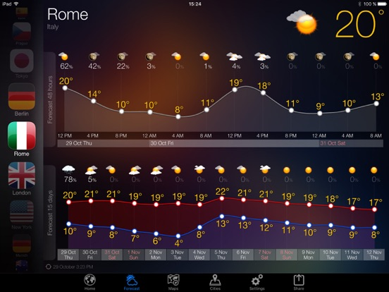 Прогноз погоды - Weather Now° Скриншоты9