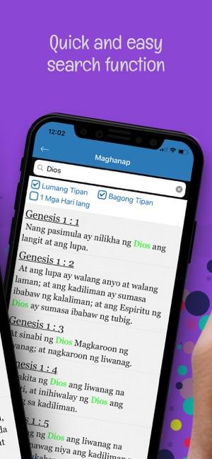 Ang dating biblia for ipad