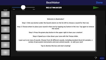 Wyz Beat Maker screenshot one