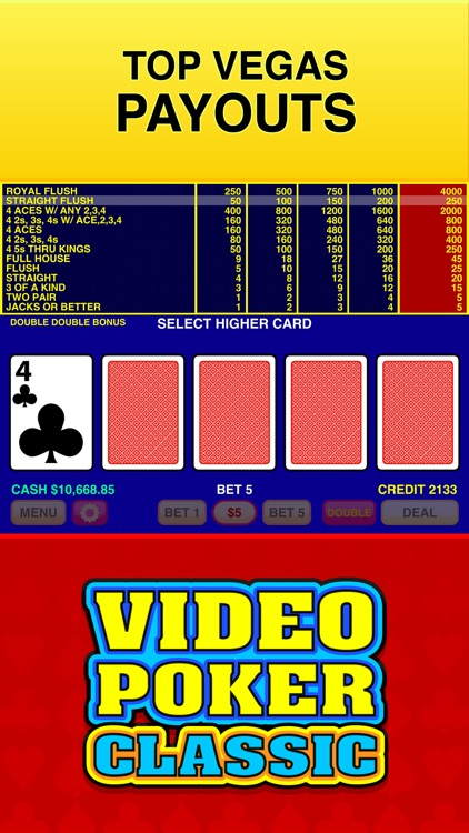Video Poker Classic - 39 Games screenshot-4