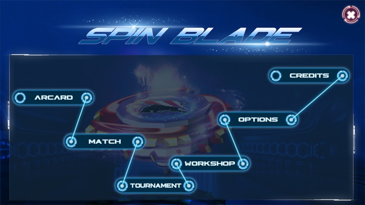 Beyblade : Spin Blade 1 screenshot-0