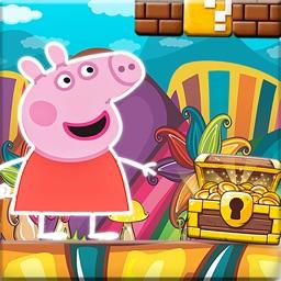 Pepa New World Pig Adventure