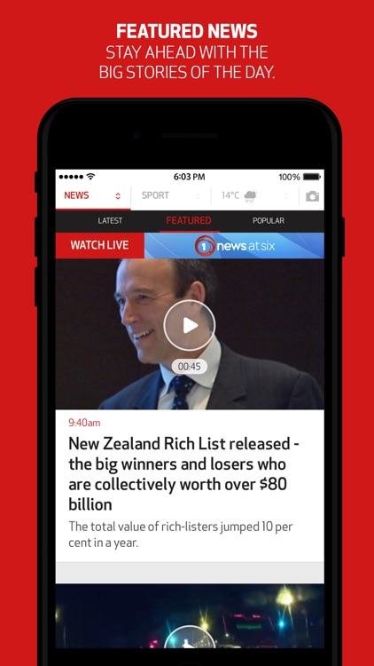 1 NEWS NOW screenshot-3