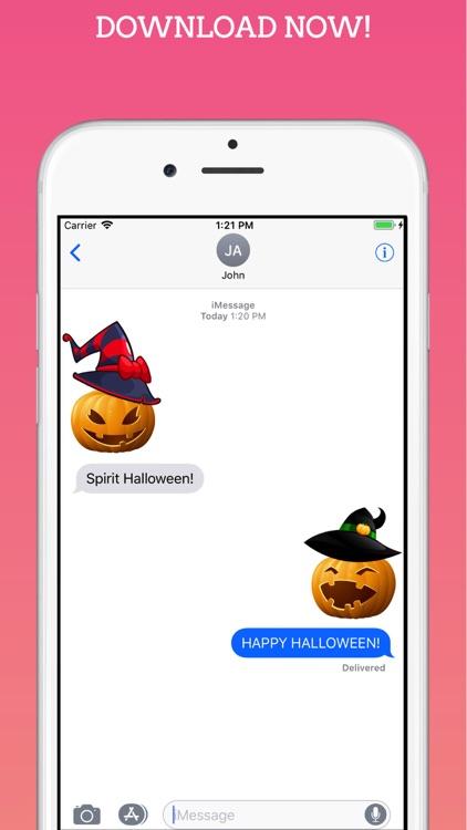 Witch Moji Halloween Stickers screenshot-3