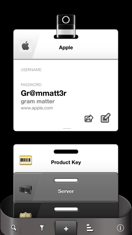 Accessbox - Password Tracking