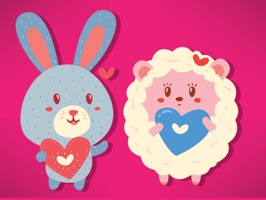 Sheep & Bunny Stickers!