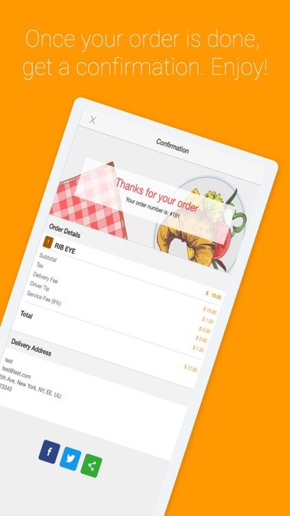 Ordering Food App screenshot-4