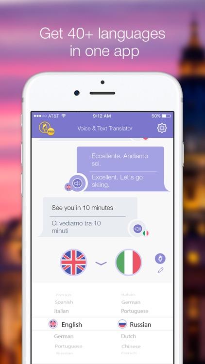 Voice & Text Translator PRO
