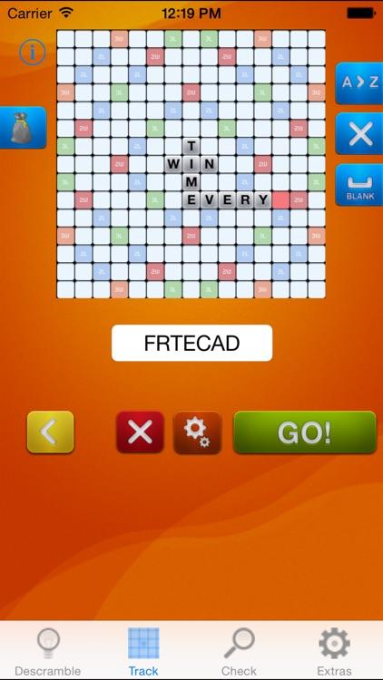 Descrambler - Word game cheat