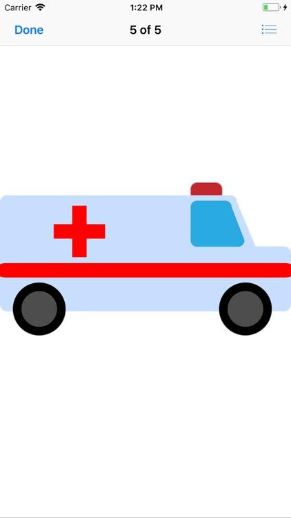 Ambulance Stickers screenshot-5