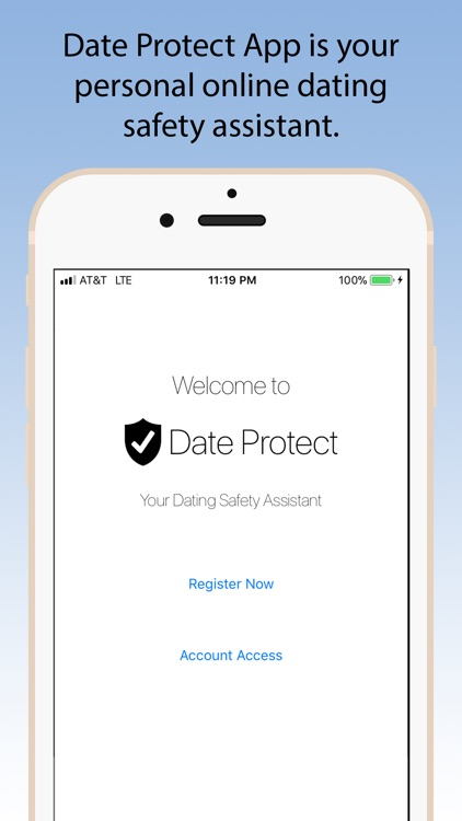 App for dating safety