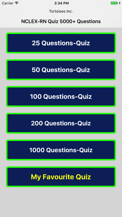 NCLEX-RN Quiz 5000 Questions by Tortoises Inc (iOS, United States
