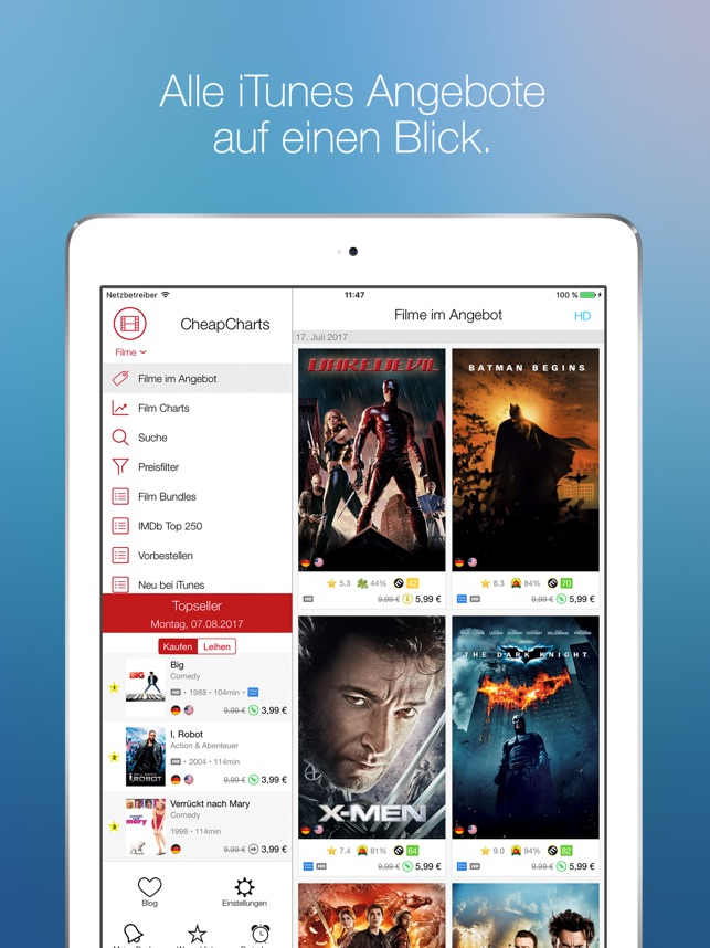 CheapCharts: Deals Für Dich Screenshot