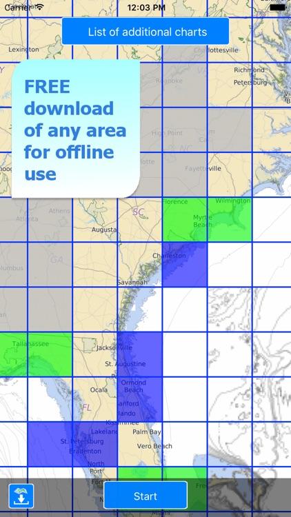 Aqua Map US Canada, Marine GPS screenshot-4