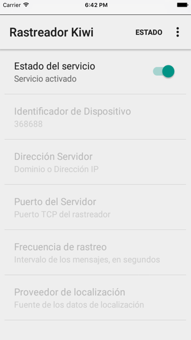 Rastrea tu iPhone o iPad en Kiwi GPS screenshot three