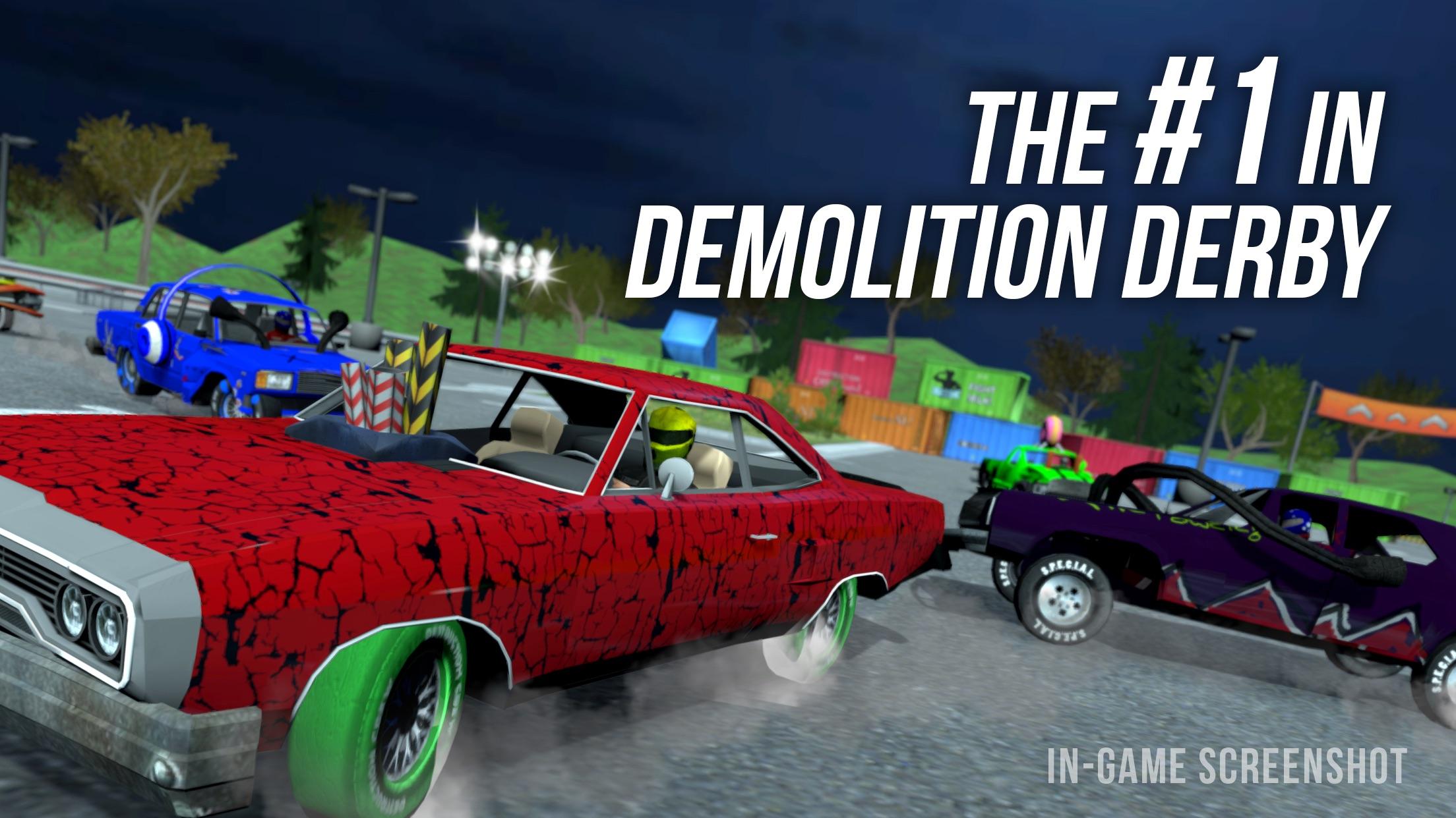 Demolition Derby Multiplayer Screenshot