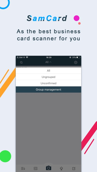 Business Card Scanner-SamCard Screenshots