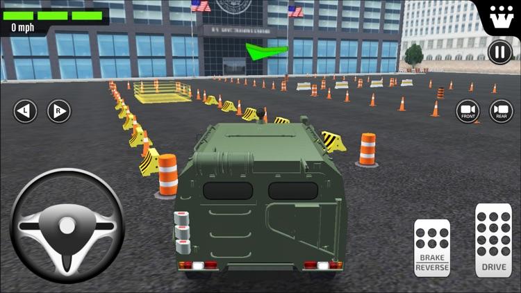 Emergency Car Driving Simulator screenshot-3