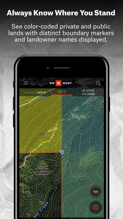 best video app for iphone onx hunt 1 gps app by onxmaps inc 3073