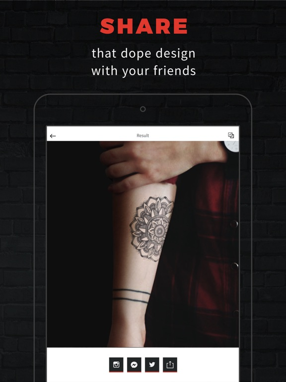 INKHUNTER PRO Tattoos try on screenshot 8