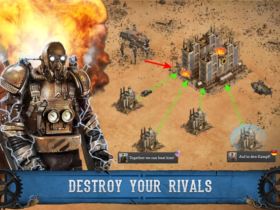 Wild West: Steampunk Alliances Screenshots