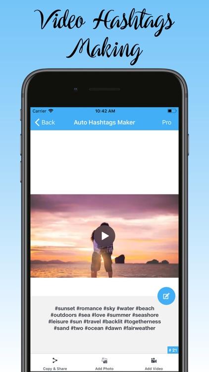 Auto Hashtag Maker Pro