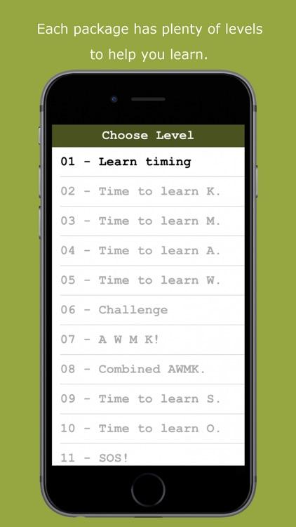 MorseZapp - Learn Morse Code screenshot-4