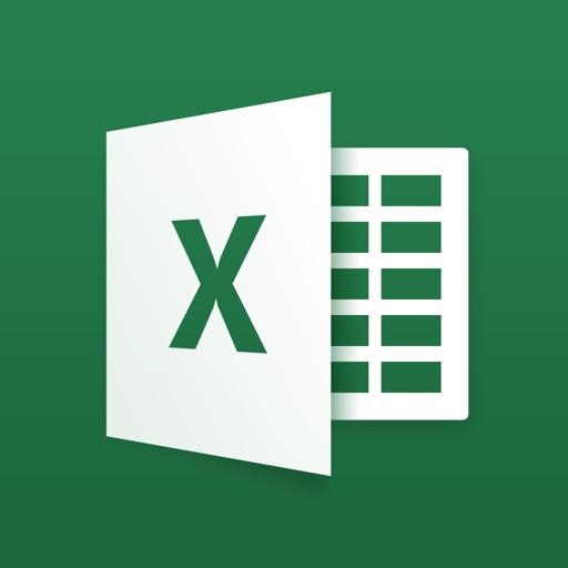 Microsoft Excel app for ipad