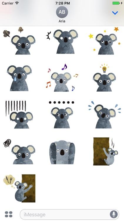 Adorable Koala Emoji Sticker